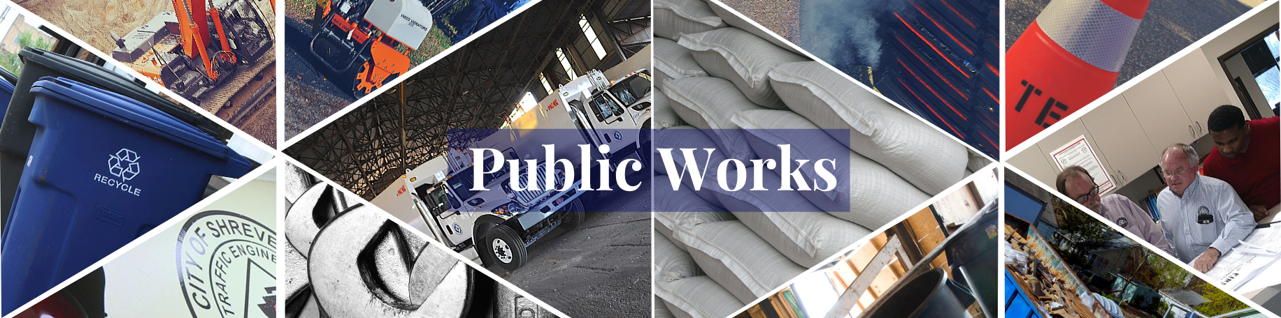 Department of Public Works Main Page