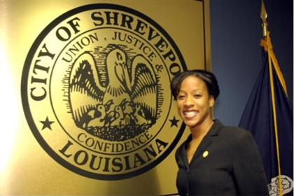 Mayoral Intern Angela Thomas