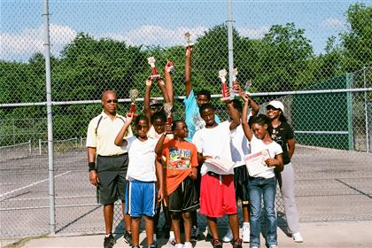 Tennis class group photo 2