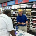 Chris Hays Health Fair at Walgreen