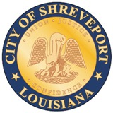 gold and blue city seal