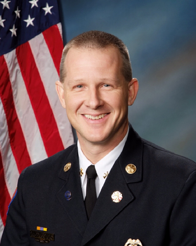 Fire Chief Scott Wolverton
