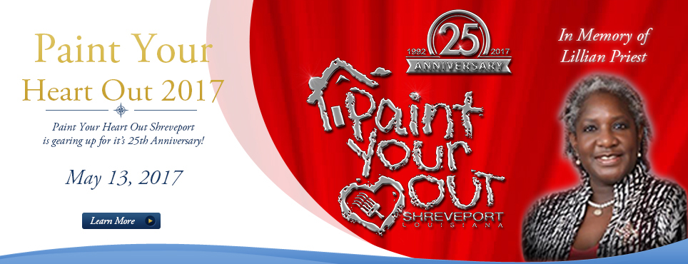 2017 Paint Your Heart Out Shreveport